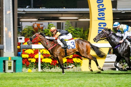 Griffin Premiere wins the 2017 Chinese Recreation Challenge Cup Handicap
