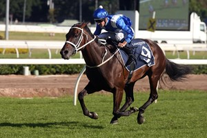 Winx wins the 2017 Queen Elizabeth Stakes