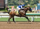 Lord Simba wins the 2017 Los Angeles Stakes