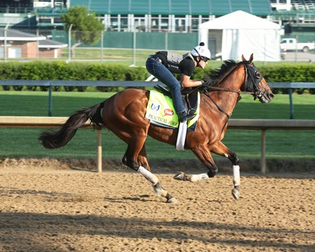 Practical Joke - Gallop, Churchill Downs - April 26, 2017