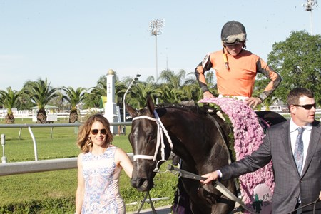 Girvin wins the 2017 Louisiana Derby