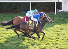 Dickinson captures the Coolmore Jenny Wiley Stakes at Keeneland in April
