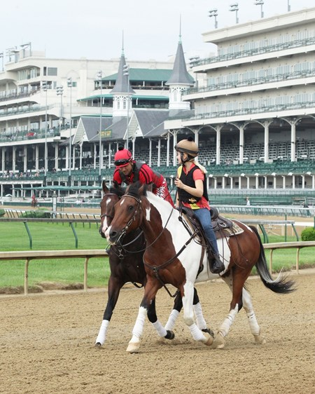 Classic Empire - Jog - Churchill Downs - 04-30-17