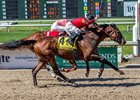 Honorable Duty wins the New Orleans Handicap at Fair Grounds