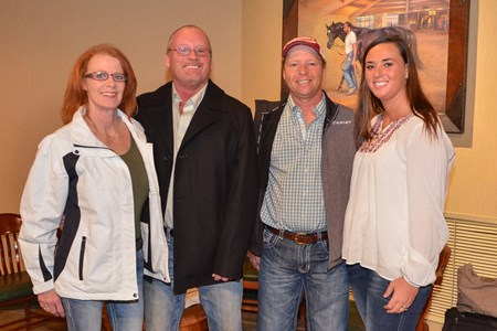 Crupper Bloodstock: Lisa Crupper, Keith Crupper, Allen Crupper, and Ashley Crupper, breeders of Practical Joke, Ashland and Blue Grass Stakes Draw, Keeneland 2017