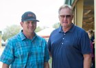 Brad Grady and John Moynihan at the OBS spring sale