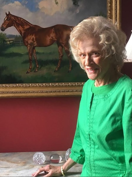 Nancy Polk, owner of Normandy Farm near Lexington