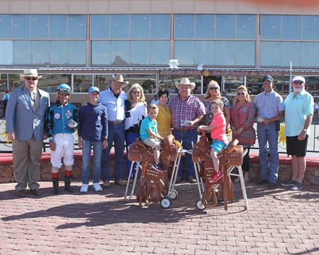 On the Low Down wins the 2017 Copper Top Futurity