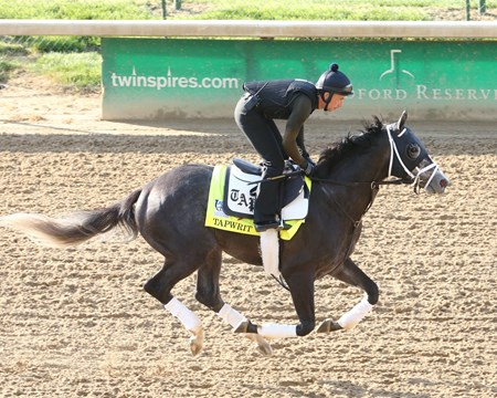 Tapwrit - Gallop, Churchill Downs - April 26, 2017