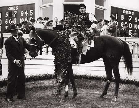 "Assault begins his ""assault"" on the 1946 Triple Crown with a decisive victory in the Kentucky Derby."