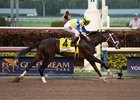 Always Dreaming wins the Florida Derby April 1 at Gulfstream Park