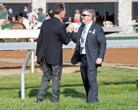 l-r, Jimmy Bell and Dan Pride.