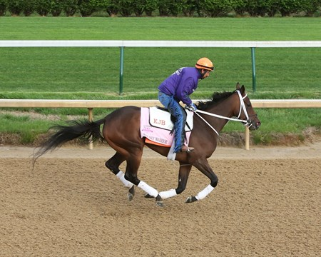 Miss Sky Warrior - Gallop - Churchill Downs - 04-23-17