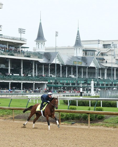 Practical Joke - Gallop - Churchill Downs - 05-04-17