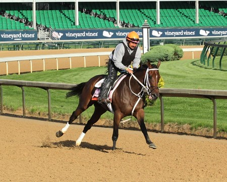 Miss Sky Warrior - Gallop - Churchill Downs - 05-01-17