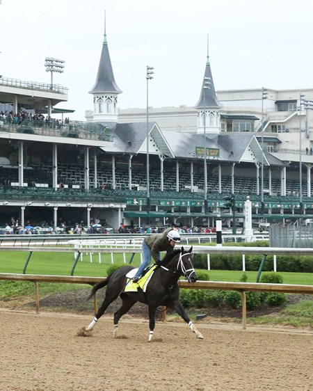 Girvin - Gallop - Churchill Downs - 05-04-17
