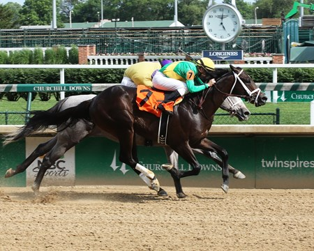 Mo Diddley - Maiden Win, Churchill Downs, May 18, 2017