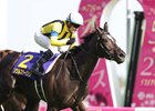 Soul Stirring wins the Japanese Oaks