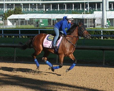 Abel Tasman - Gallop - Churchill Downs - 050217