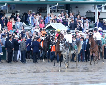 Kentucky Derby Day - Girvin - Churchill Downs - 05-06-17