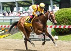 Terra Promessa wins the Allair DuPont Distaff by 7 1/2 lengths at Pimlico May 19