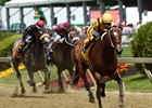 Terra Promessa speeds to victory in the Allaire DuPont Distaff at Pimlico May 19
