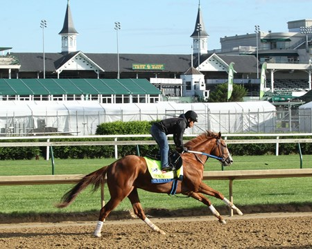 Hence works at Churchill Downs