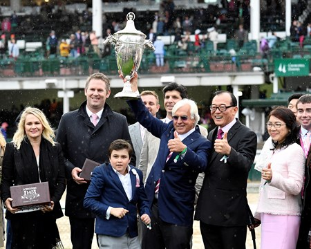 Abel Tasman with Mike Smith wins the Kentucky Oaks (G1) Derby and Oaks contenders in the morning at Churchill Downs  May 5, 2017 Churchill Downs in Louisville, Ky.