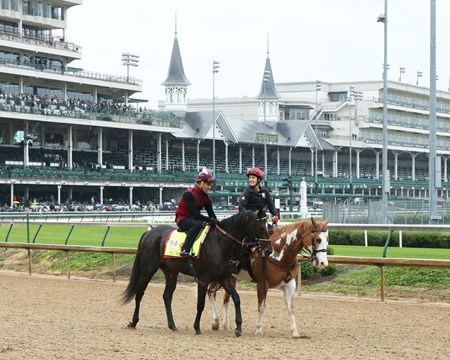 McCraken - Gallop - Churchill Downs - 05-04-17