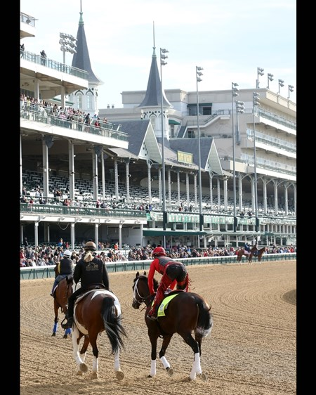 Classic Empire - Gallop - Churchill Downs - 05-03-17