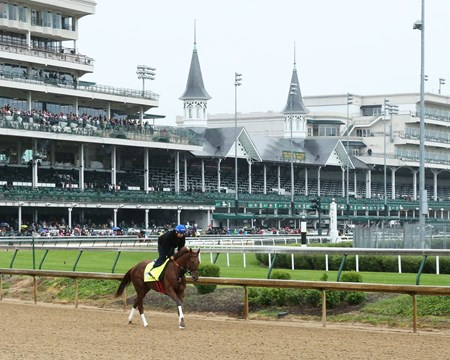 Gunnevera - Gallop - Churchill Downs - 05-04-17