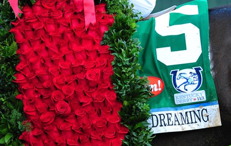 Always Dreaming (Yellow) John Velazquez up, wins the 143rd Kentucky Derby...