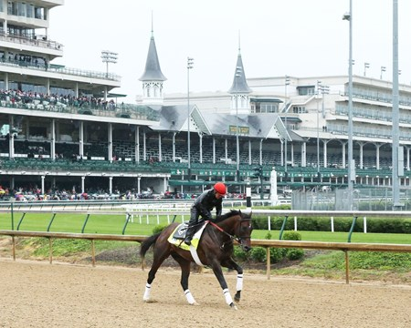 J Boys Echo - Gallop - Churchill Downs - 05-04-17
