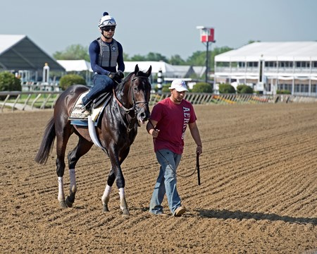 Cloud Computing Preakness contenders at Pimlico.  May 17, 2017