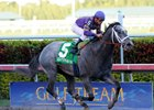 Flashpoint, sire of Flashy Coop, wins the 2011 Hutcheson Stakes