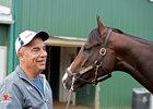 Classic Empire with Canadian Hall of Fame trainer Mark Casse