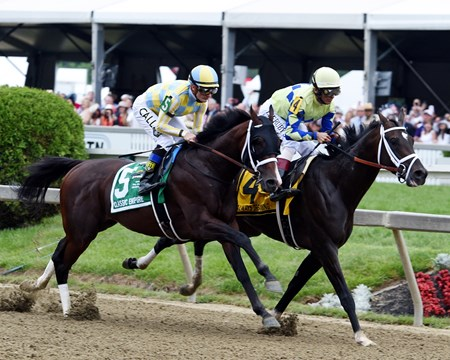 Always Dreaming and Classic Empire - Preakness Stakes