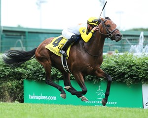 Some in Tieme wins the Louisville Handicap at Churchill Downs