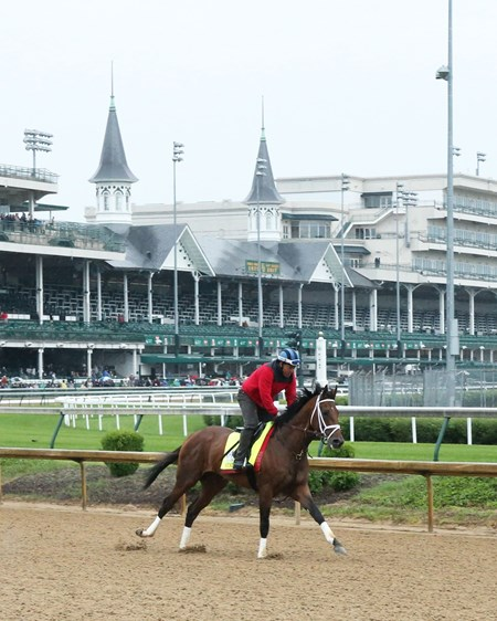State of Honor - Gallop - Churchill Downs - 05-04-17