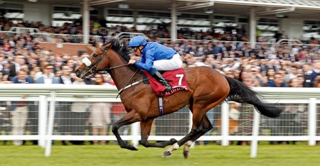 Ribchester (William Buick) wins The Al Shaqab Lockinge Stakes Newbury 20 May 2017