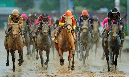 (May 5, 2017) Abel Tasman, Mike Smith up, wins the 143rd Running of the Gr.1 Kentucky Oaks