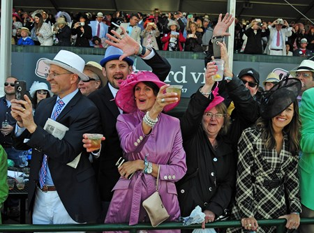 (May 6, 2017) Derby Day crowd.....