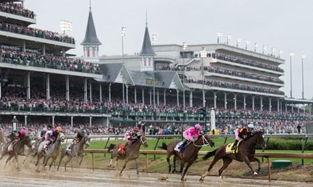 Abel Tasman with Mike Smith wins the Kentucky Oaks (G1)
