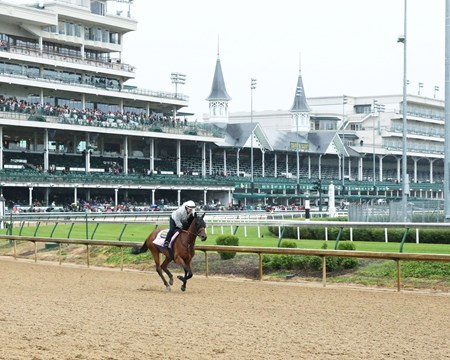 Abel Tasman - Gallop - Churchill Downs - 05-04-17