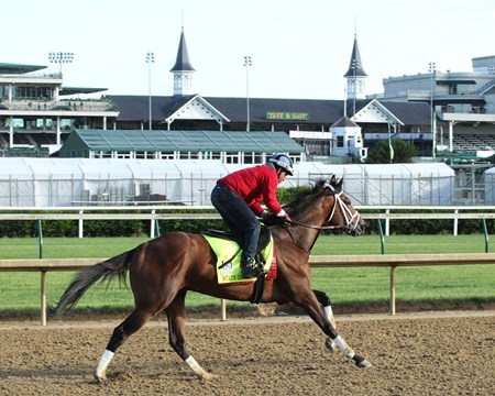 State of Honor - Gallop - Churchill Downs - 05-01-17