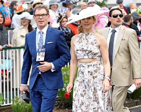 Bobby Flay on  May 6, 2017 at Churchill Downs in Louisville, Ky.
