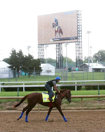 Gunnevera - Gallop - Churchill Downs - 05-03-17