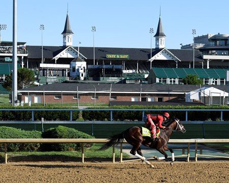 Classic Empire Derby and Oaks contenders in the morning at Churchill Downs  May 2, 2017 Churchill Downs in Louisville, Ky.
