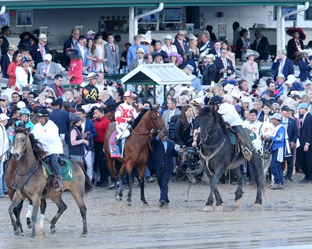 Kentucky Derby Day - Practical Joke - Churchill Downs - 05-06-17