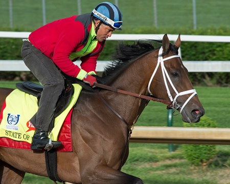 State of Honor Derby and Oaks contenders in the morning at Churchill Downs  May 3, 2017 Churchill Downs in Louisville, Ky.